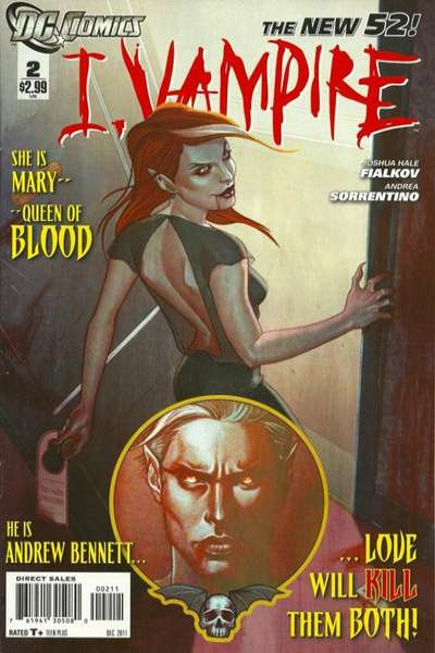 I Vampire #2 comic books for sale