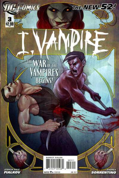 I Vampire #3 comic books for sale