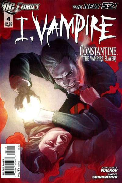 I Vampire #4 comic books for sale