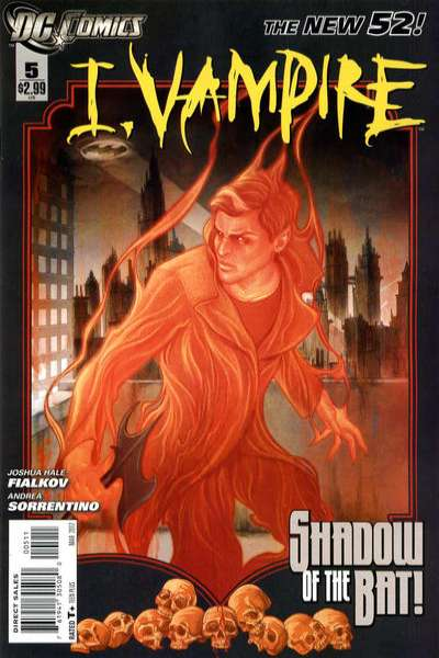 I Vampire #5 comic books for sale