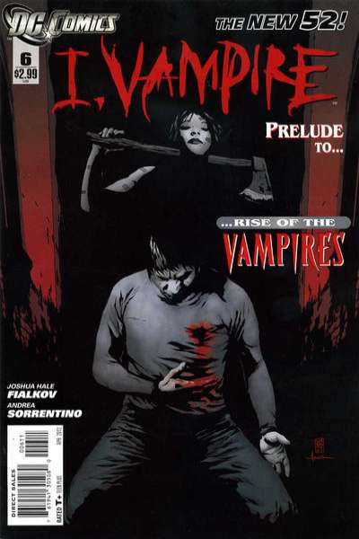 I Vampire #6 comic books - cover scans photos I Vampire #6 comic books - covers, picture gallery