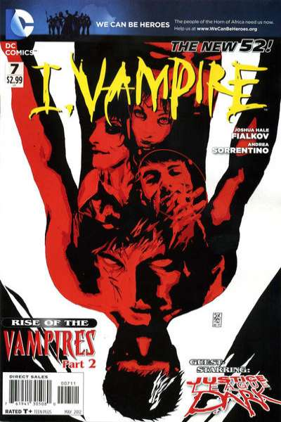 I Vampire #7 Comic Books - Covers, Scans, Photos  in I Vampire Comic Books - Covers, Scans, Gallery