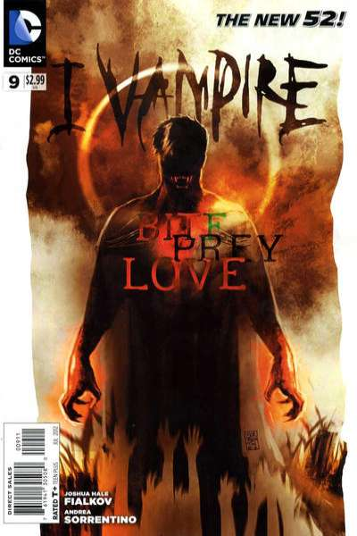 I Vampire #9 comic books for sale