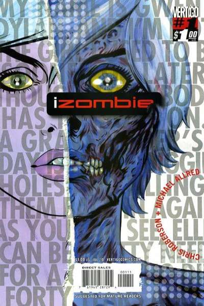 I Zombie comic books