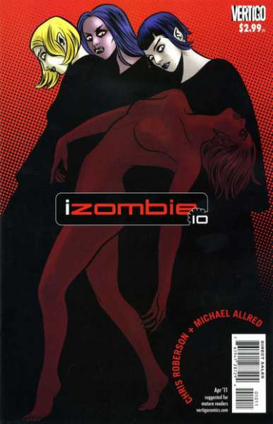 I Zombie #10 Comic Books - Covers, Scans, Photos  in I Zombie Comic Books - Covers, Scans, Gallery