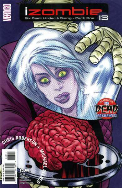 I Zombie #13 Comic Books - Covers, Scans, Photos  in I Zombie Comic Books - Covers, Scans, Gallery