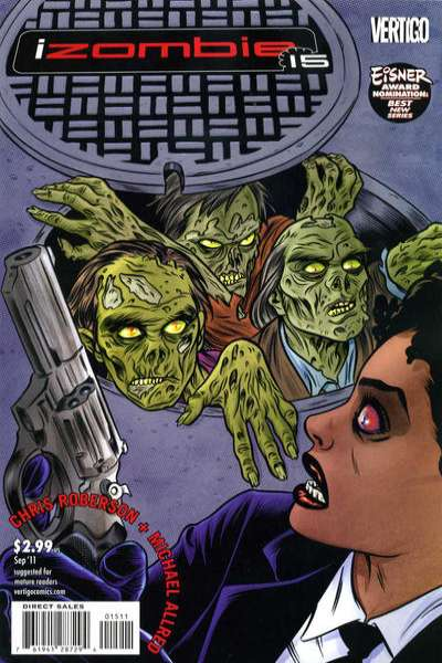 I Zombie #15 Comic Books - Covers, Scans, Photos  in I Zombie Comic Books - Covers, Scans, Gallery
