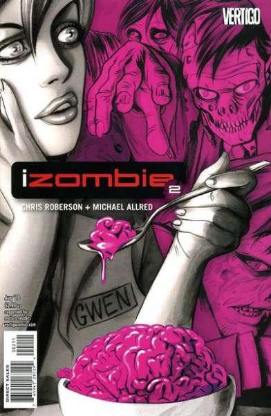 I Zombie #2 Comic Books - Covers, Scans, Photos  in I Zombie Comic Books - Covers, Scans, Gallery