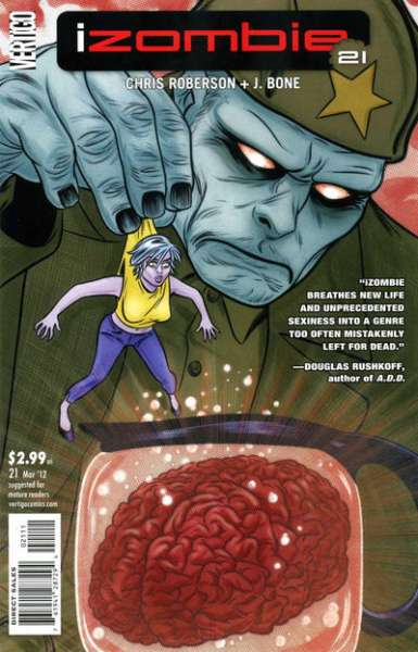 I Zombie #21 Comic Books - Covers, Scans, Photos  in I Zombie Comic Books - Covers, Scans, Gallery