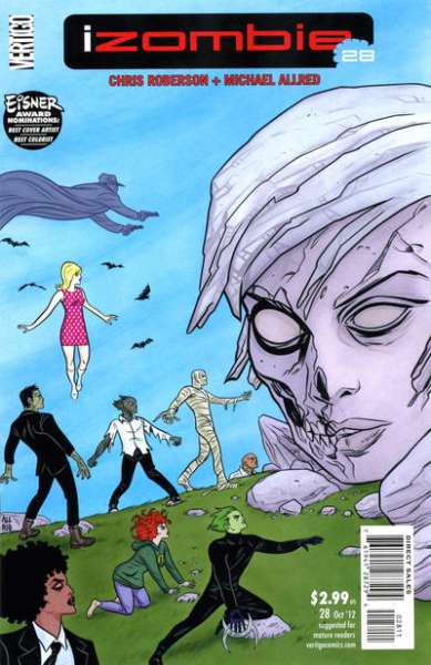 I Zombie #28 Comic Books - Covers, Scans, Photos  in I Zombie Comic Books - Covers, Scans, Gallery