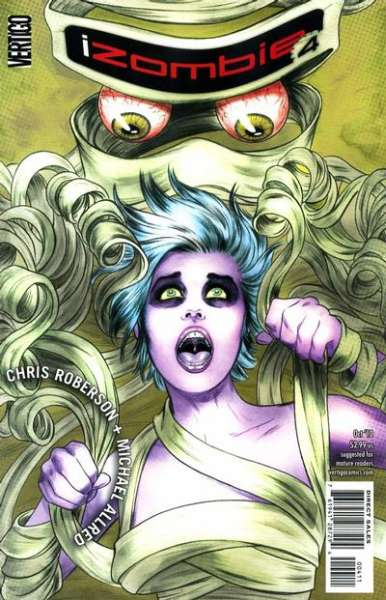 I Zombie #4 Comic Books - Covers, Scans, Photos  in I Zombie Comic Books - Covers, Scans, Gallery