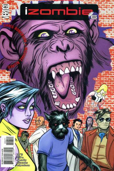 I Zombie #6 comic books - cover scans photos I Zombie #6 comic books - covers, picture gallery