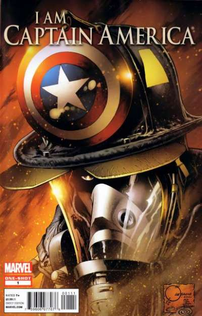 I am Captain America #1 comic books for sale