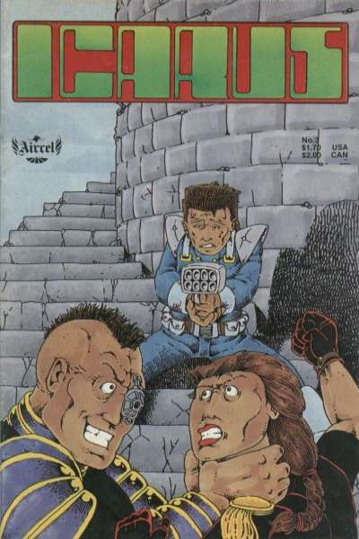 Icarus #3 Comic Books - Covers, Scans, Photos  in Icarus Comic Books - Covers, Scans, Gallery