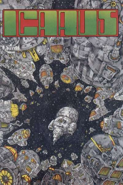 Icarus #5 Comic Books - Covers, Scans, Photos  in Icarus Comic Books - Covers, Scans, Gallery