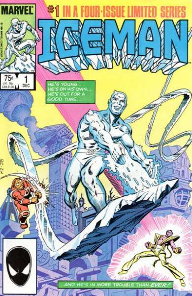 Iceman #1 Comic Books - Covers, Scans, Photos  in Iceman Comic Books - Covers, Scans, Gallery