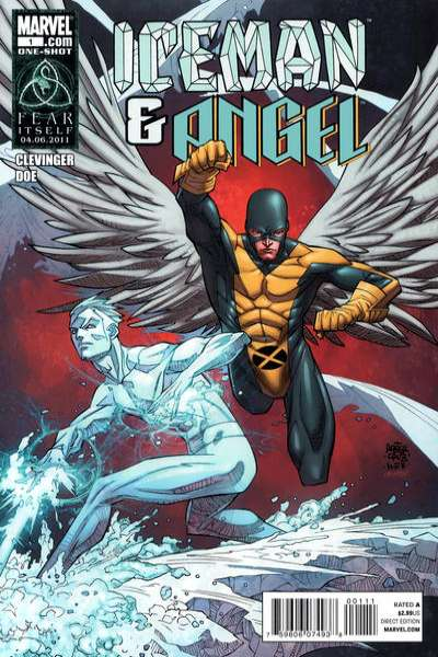 Iceman and Angel comic books