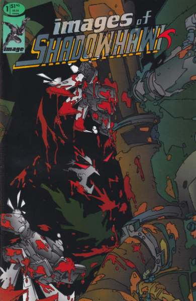 Images of Shadowhawk comic books