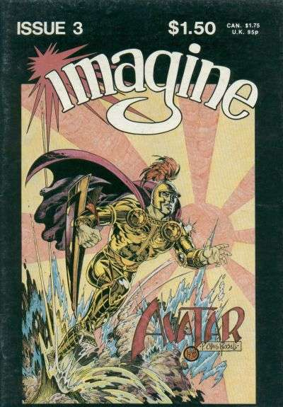 Imagine #3 Comic Books - Covers, Scans, Photos  in Imagine Comic Books - Covers, Scans, Gallery