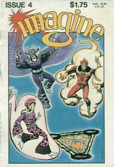 Imagine #4 Comic Books - Covers, Scans, Photos  in Imagine Comic Books - Covers, Scans, Gallery