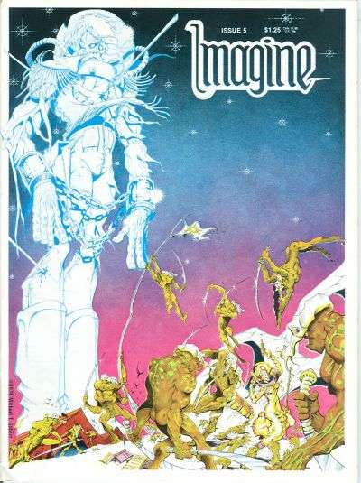 Imagine #5 Comic Books - Covers, Scans, Photos  in Imagine Comic Books - Covers, Scans, Gallery