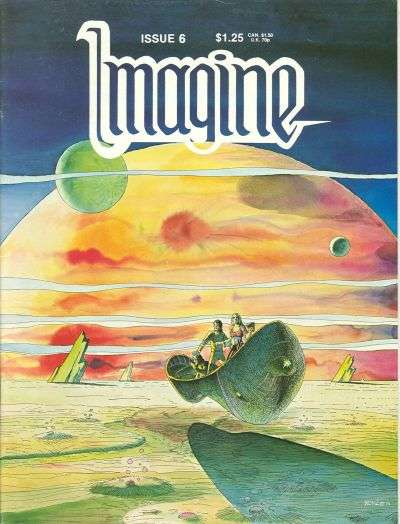 Imagine #6 Comic Books - Covers, Scans, Photos  in Imagine Comic Books - Covers, Scans, Gallery