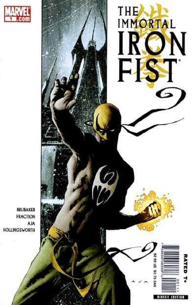 Immortal Iron Fist comic books