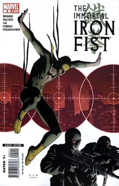 Immortal Iron Fist #5 comic books - cover scans photos Immortal Iron Fist #5 comic books - covers, picture gallery