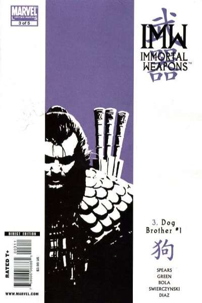 Immortal Weapons #3 comic books for sale