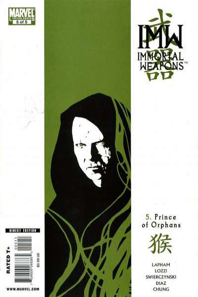 Immortal Weapons #5 comic books for sale