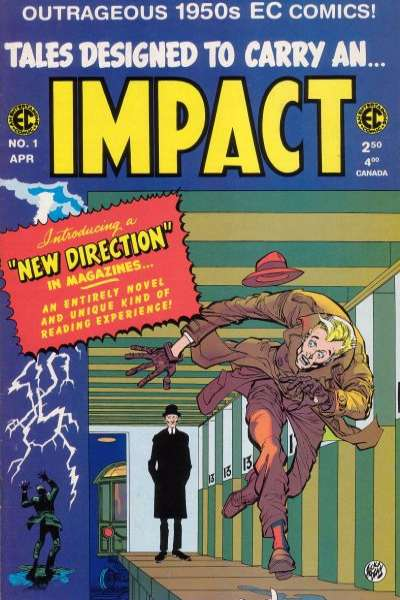 Impact #1 Comic Books - Covers, Scans, Photos  in Impact Comic Books - Covers, Scans, Gallery