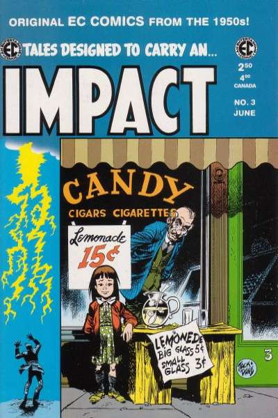 Impact #3 Comic Books - Covers, Scans, Photos  in Impact Comic Books - Covers, Scans, Gallery