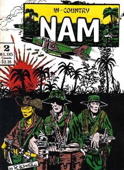 In-Country Nam #2 comic books for sale