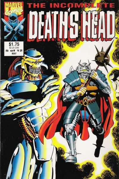 Incomplete Death's Head #5 comic books - cover scans photos Incomplete Death's Head #5 comic books - covers, picture gallery
