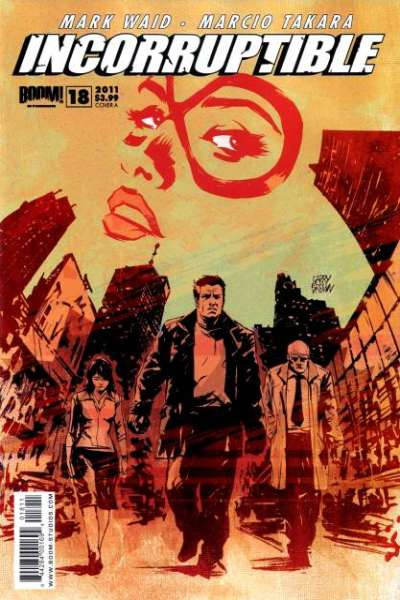 Incorruptible #18 comic books for sale