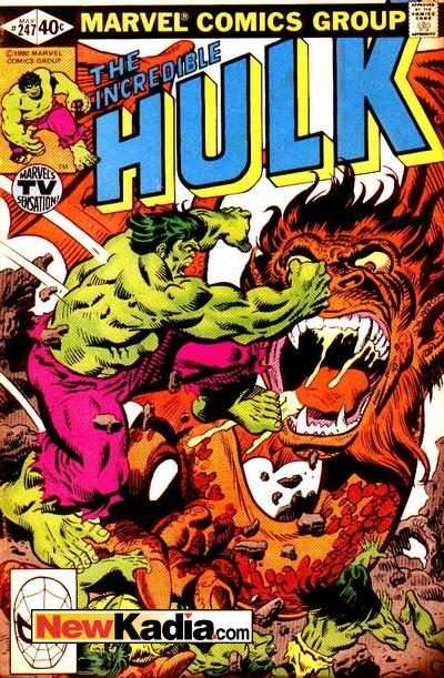 Incredible Hulk #247 comic books - cover scans photos Incredible Hulk #247 comic books - covers, picture gallery