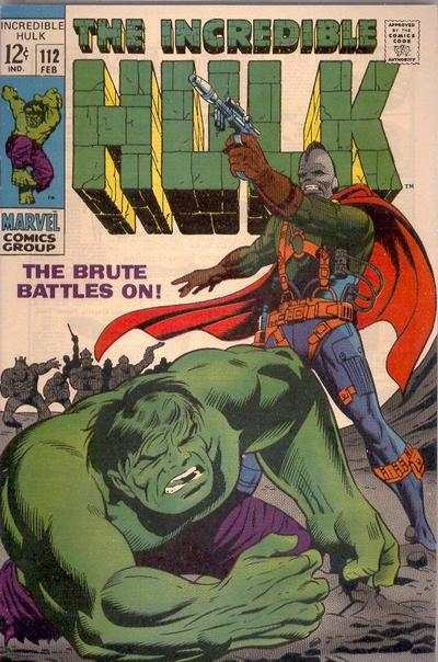 Incredible Hulk #112 comic books - cover scans photos Incredible Hulk #112 comic books - covers, picture gallery