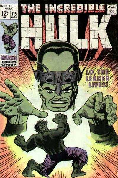 Incredible Hulk #115 comic books - cover scans photos Incredible Hulk #115 comic books - covers, picture gallery
