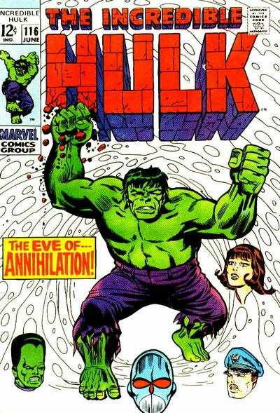 Incredible Hulk #116 comic books for sale
