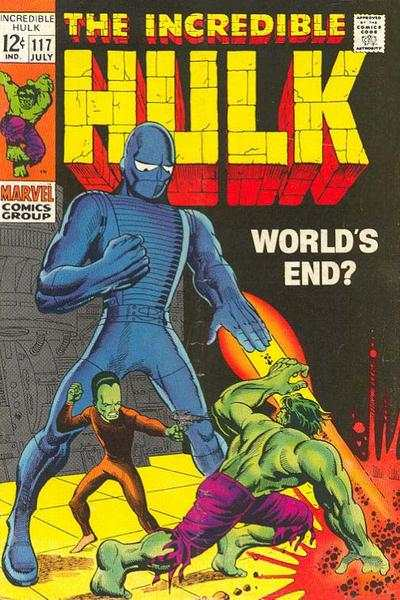 Incredible Hulk #117 comic books for sale