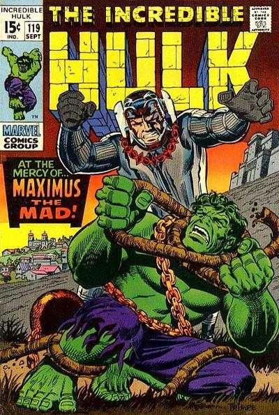 Incredible Hulk #119 comic books - cover scans photos Incredible Hulk #119 comic books - covers, picture gallery