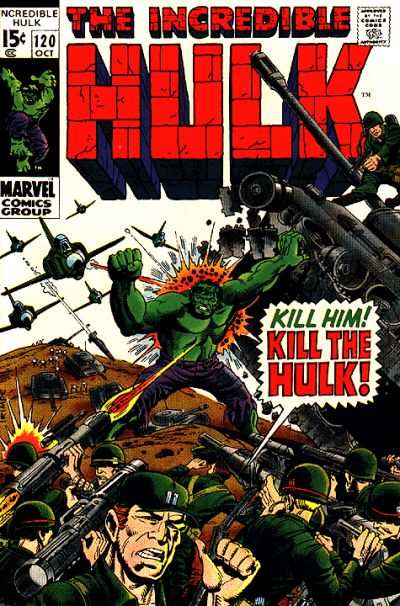 Incredible Hulk #120 comic books - cover scans photos Incredible Hulk #120 comic books - covers, picture gallery