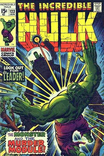 Incredible Hulk #123 comic books for sale