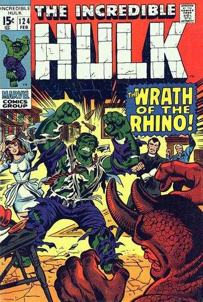 Incredible Hulk #124 comic books - cover scans photos Incredible Hulk #124 comic books - covers, picture gallery