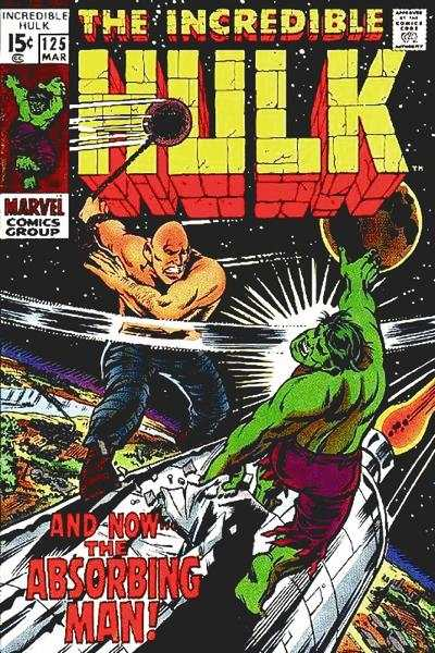 Incredible Hulk #125 Comic Books - Covers, Scans, Photos  in Incredible Hulk Comic Books - Covers, Scans, Gallery