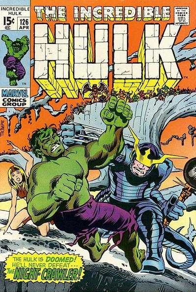 Incredible Hulk #126 comic books - cover scans photos Incredible Hulk #126 comic books - covers, picture gallery