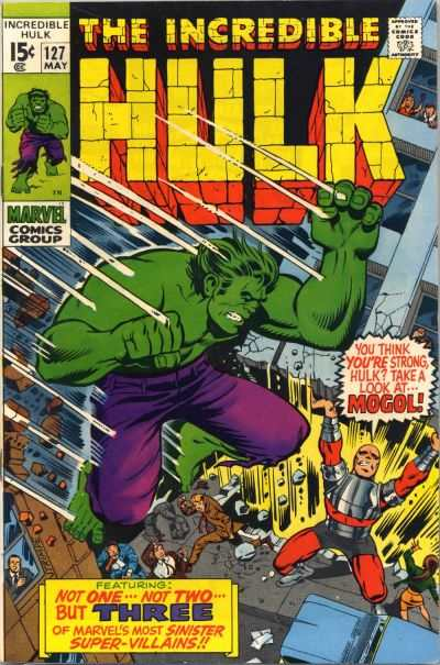 Incredible Hulk #127 comic books - cover scans photos Incredible Hulk #127 comic books - covers, picture gallery