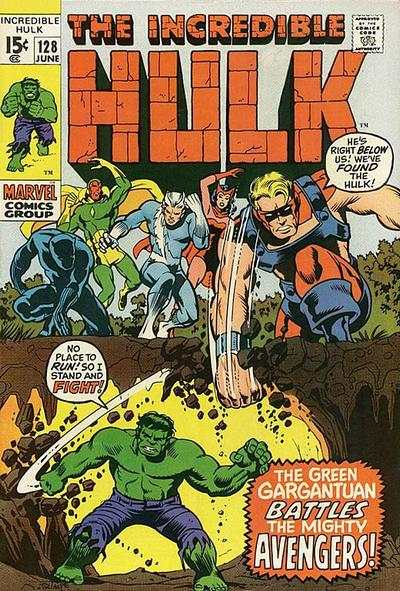 Incredible Hulk #128 comic books for sale