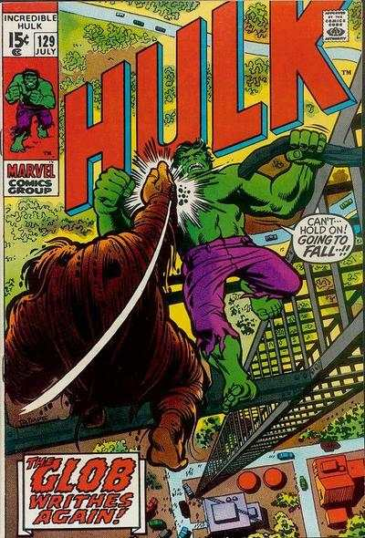 Incredible Hulk #129 comic books for sale