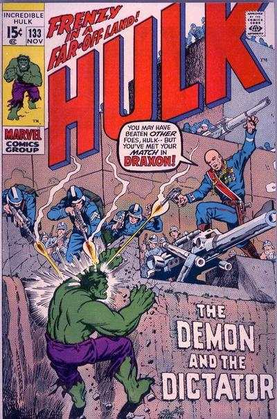 Incredible Hulk #133 comic books - cover scans photos Incredible Hulk #133 comic books - covers, picture gallery
